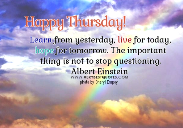Thursday-Good-Morning-Quotes-learn-live-hope-quotes