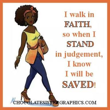 I walk in faith