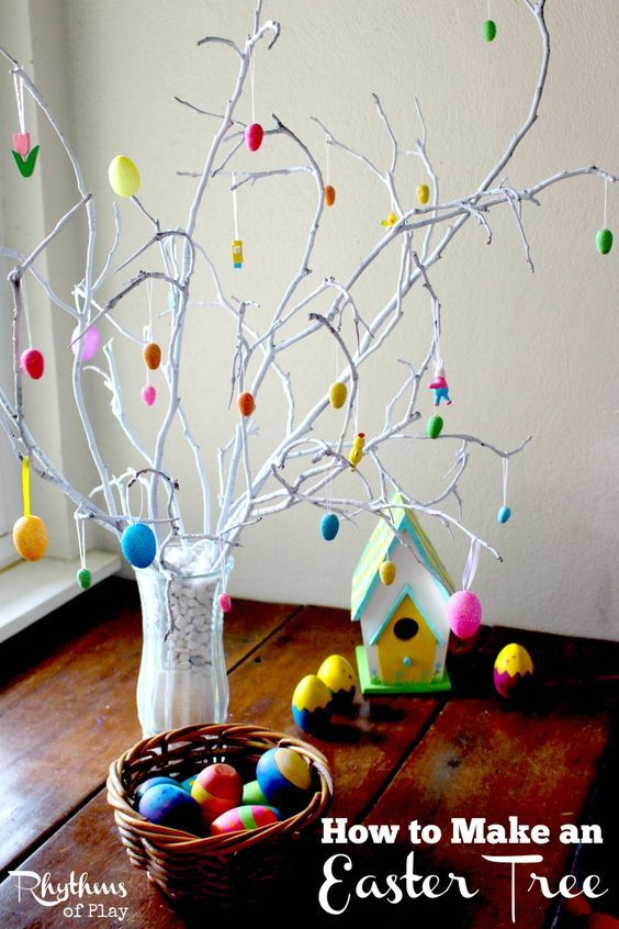 How to make Easter Tree